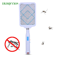 Hot Multifunction Foldable Electric Mosquito Swatter Garden Pest Control Insect Bug Bat Wasp Zapper Fly For
