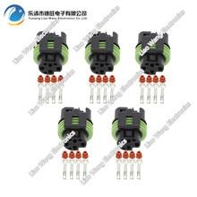5 PCS  4 Pin Metri-Pack 150 Sealed Female Electrical Connector DJ7046A-1.5-21 Oxygen Sensor Plug 4P