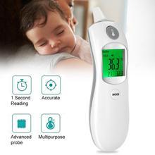 Цифровой инфракрасной термометр детские лоб и термометр ухо метр тело лихорадка измерения для маленьких детей и взрослых