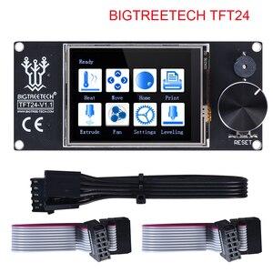 Image 1 - Цветной экран BIQU BIGTREETECH TFT24 V1.1 с сенсорным экраном и 12864 режимами ЖК дисплея для MKS SKR V1.3 PRo Ender 3 3D платы