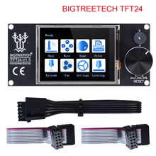 BIQU BIGTREETECH TFT24 V1.1 Color Screen With Touch Screen and 12864 LCD Display Mode For MKS SKR V1.3 PRo Ender 3 3D Board цена в Москве и Питере