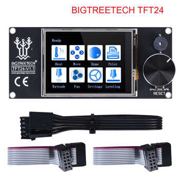 BIQU BIGTREETECH TFT24 V1.1 Color Screen With Touch Screen and 12864 LCD Display Mode For MKS SKR V1.3 PRo Ender 3 3D Board - DISCOUNT ITEM  11% OFF All Category