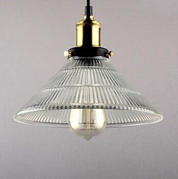 30CM 1light,E27 Edison Bulb Retro Loft Style Vintage Lamp Industrial Pendant Light with Glass Iron Painting,Lustres De Sala Teto loft vintage edison glass light ceiling lamp cafe dining bar club aisle t300