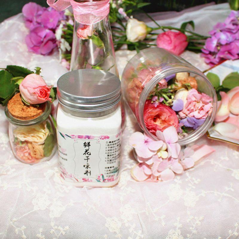 Reusable Silica Gel For Preserve Flower Drying DIY Craft  Food Grade 0.55 Pound