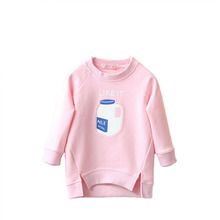 Stylish Kids Toddler Warm Tops Sweaters Girl Pullover Coat Baby Outfit H3