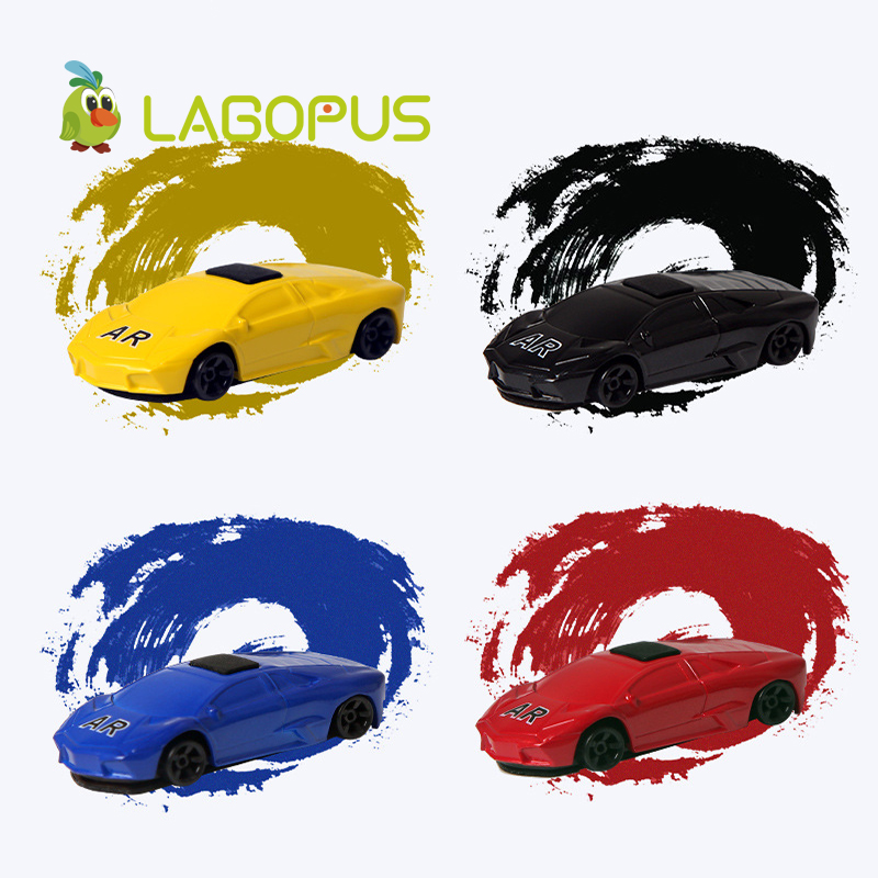 lagopus AR Car Virtual Reality 3D Game Fly Racing Car Mini Toys for Adult Educational APP Game on Your Phone For Android iOS