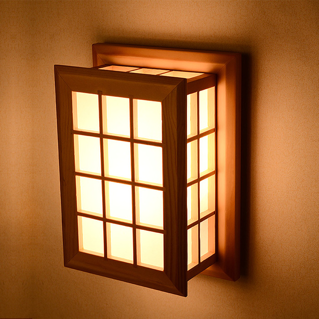 Japanese Wall Sconces: Japanese Style Wall Lamp Brief Modern Chinese Style Stair