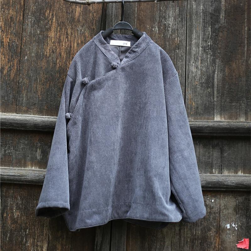 Black Chemises Outwear Lâche A72403 Vintage Femmes Bouton Blouse 3ARL54j