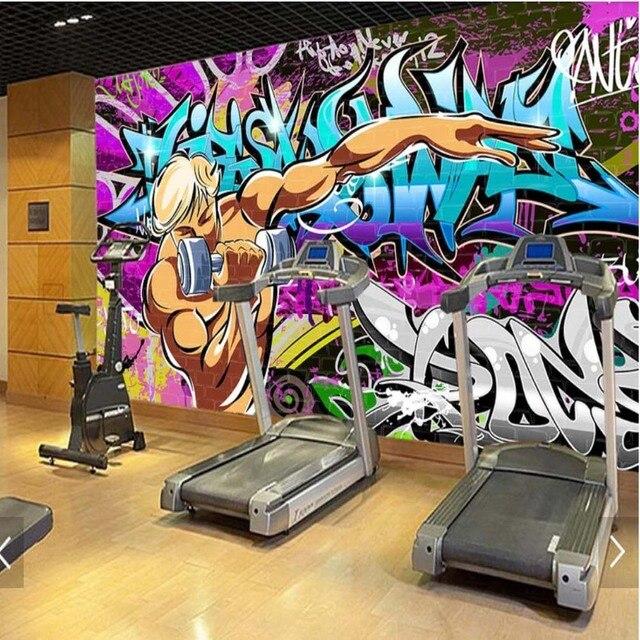 Aliexpress buy novelty graffiti hand painting wallpaper for