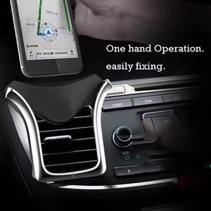 Image 3 - Support pour téléphone avec prise dair support de téléphone par gravité universel pour iPhone Samsung pour Xiaomi redmi Huawei HTC dans le support de prise dair de voiture