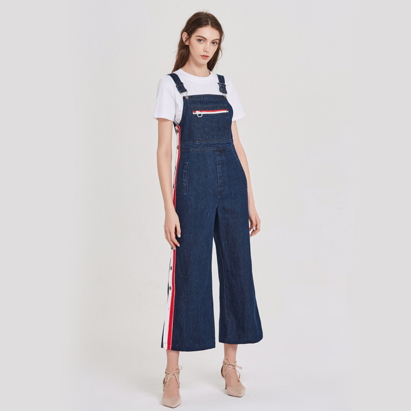 Overalls Jeans Vintage High Waisted Loose Denim Overalls Pants Women 2018 Style Summer Overall Trousers