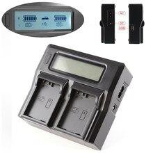 Lcd carregador de bateria dupla para canon LP-E8 550d 600d 650d 700d t5i t4i x6i x5