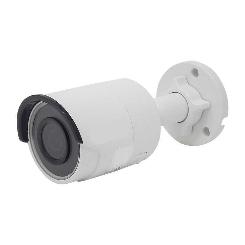 Оригинальный 2MP цилиндрическая POE IP Камера 2,8/4/6 мм объектив с фиксированным фокусным расстоянием H.265 + Встроенный слот для SD карты открытый погодостойкий IP67 DS-2CD2023G0-I