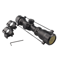 China Dandong Xunlei Laser speed 1.5 5x32 scope night vision optic illuminated red / green shooting / hunting riflescope