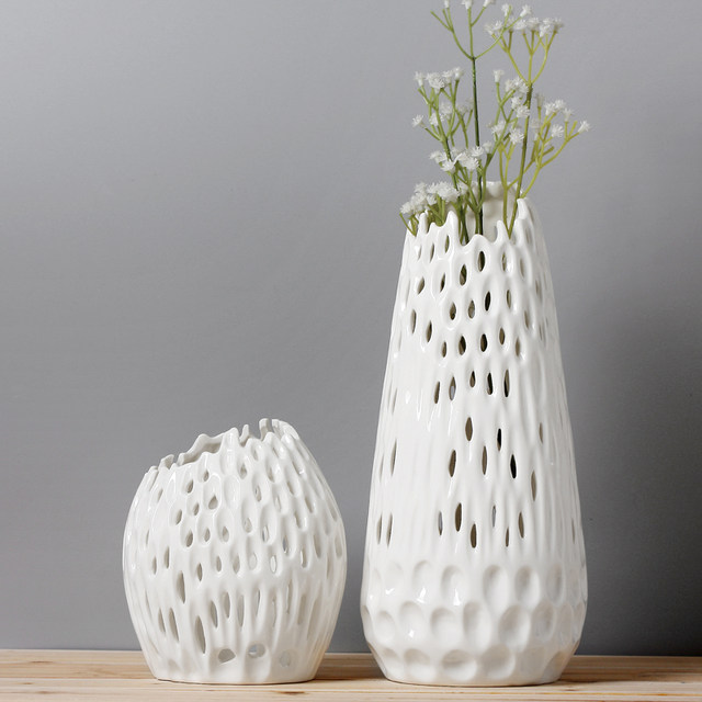 Online Shop Modern White Vases For Wedding Centerpieces Handmade