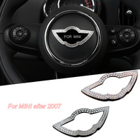 Auto Accessories Steering wheel inlaid with diamonds for Bmw Mini ONE PLUS COOPER CABRIO SEVEN CABRIO S F60 F56 F55 F54
