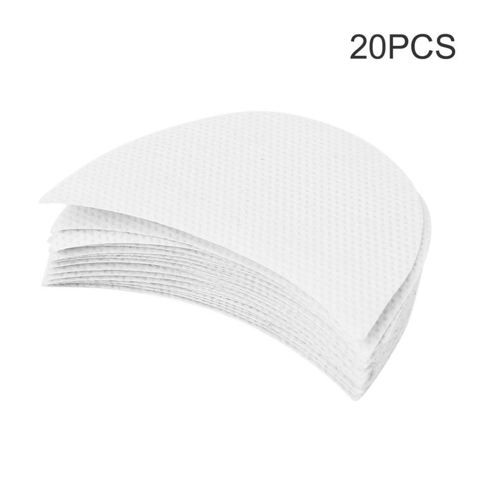 20pcs Eyelash Extensions Pads Protect Pad Eyes Lips Makeup Tool Professional Eyeshadow Pad Shields Under Eye Patches Disposable image
