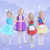 Alice In Wonderland Anna Elsa Princess Costume Tutu Apron For Girls Fun For Special Occasion Birthday