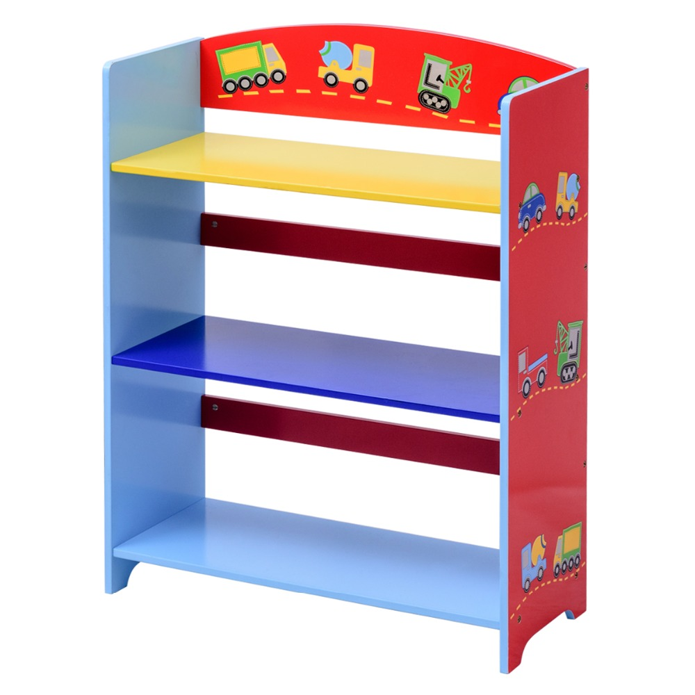 Estanteria Infantil Libreria Libreria Estanteria De Juguete Estanteria De Pie 3 Compartimentos HW56659
