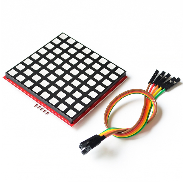 Brilliant Led Full Color Dot Matrix Rgb Led Display Screen Board 8 8 Dot Wiring Cloud Staixuggs Outletorg