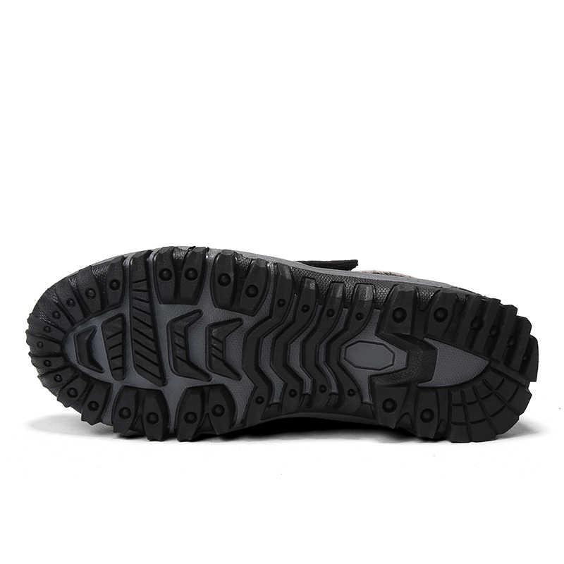 Новые мужские ботинки зимние с плюшевой подкладкой теплые зимние ботинки повседневные мужские зимние ботинки рабочая обувь мужская обувь модные ботильоны 39-46
