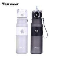 WEST BIKING Bicycle Water Bottle Portable Leak Proof Cycling Water Bottle Sports Bottle Filter Botella De