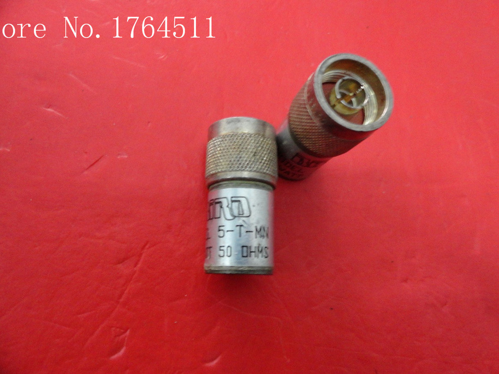 [BELLA] BIRD 5-T-MN DC-6GHz 5W N Precision Coaxial Load  --10PCS/LOT
