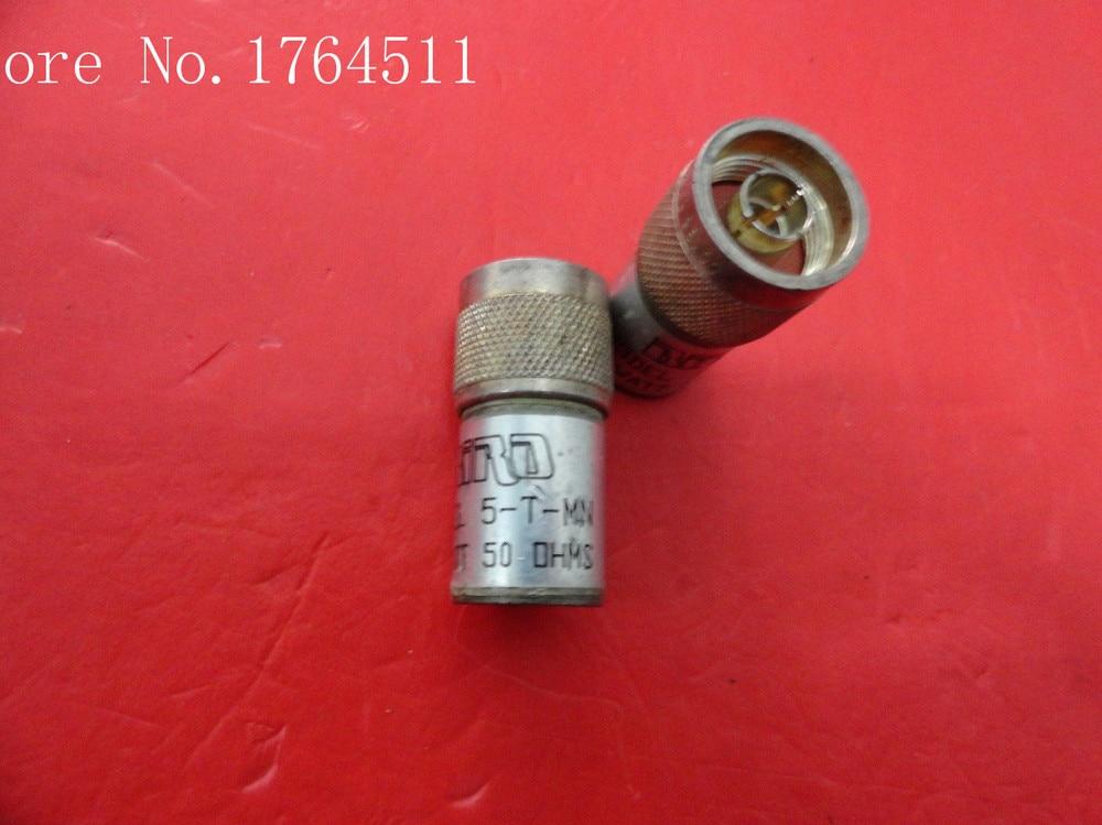 [BELLA] BIRD 5-T-MN DC-6GHz 5W N Precision Coaxial Load  --10PCS/LOT