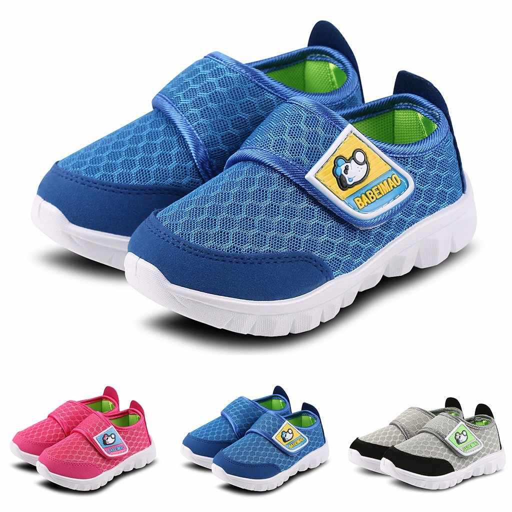 MUQGEW เด็กวัยหัดเดินเด็กทารกรองเท้าเด็กทารกรองเท้าผ้าใบเด็ก 2019 เด็กสาวตาข่ายวิ่งรองเท้ากีฬารองเท้า