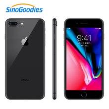 잠금 해제 된 애플 아이폰 8 플러스 스마트 폰 iOS 3GB RAM 64 256GB ROM 5.5 인치 12MP 지문 2691mAh LTE 휴대 전화 사용
