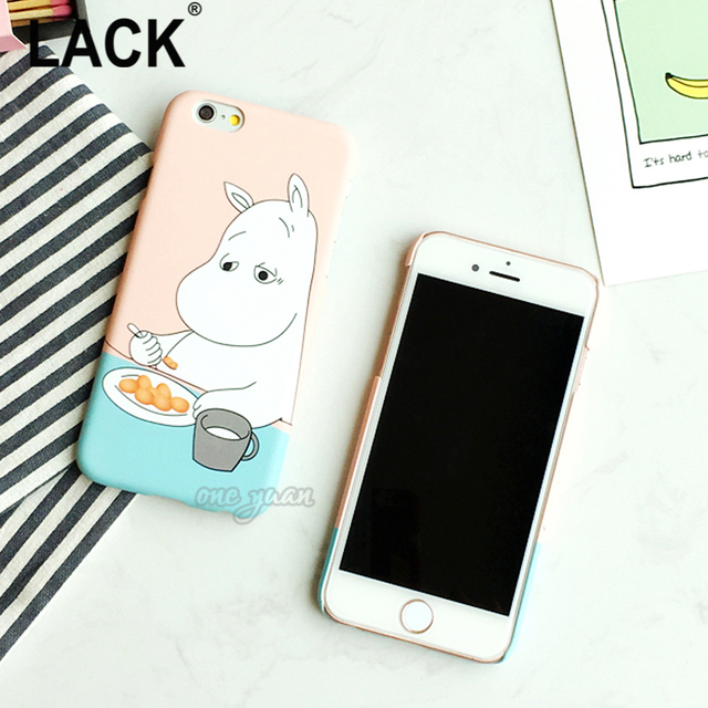 Cartoon Hippo Case For iphone 5S Case For iphone 5 6 6S Plus