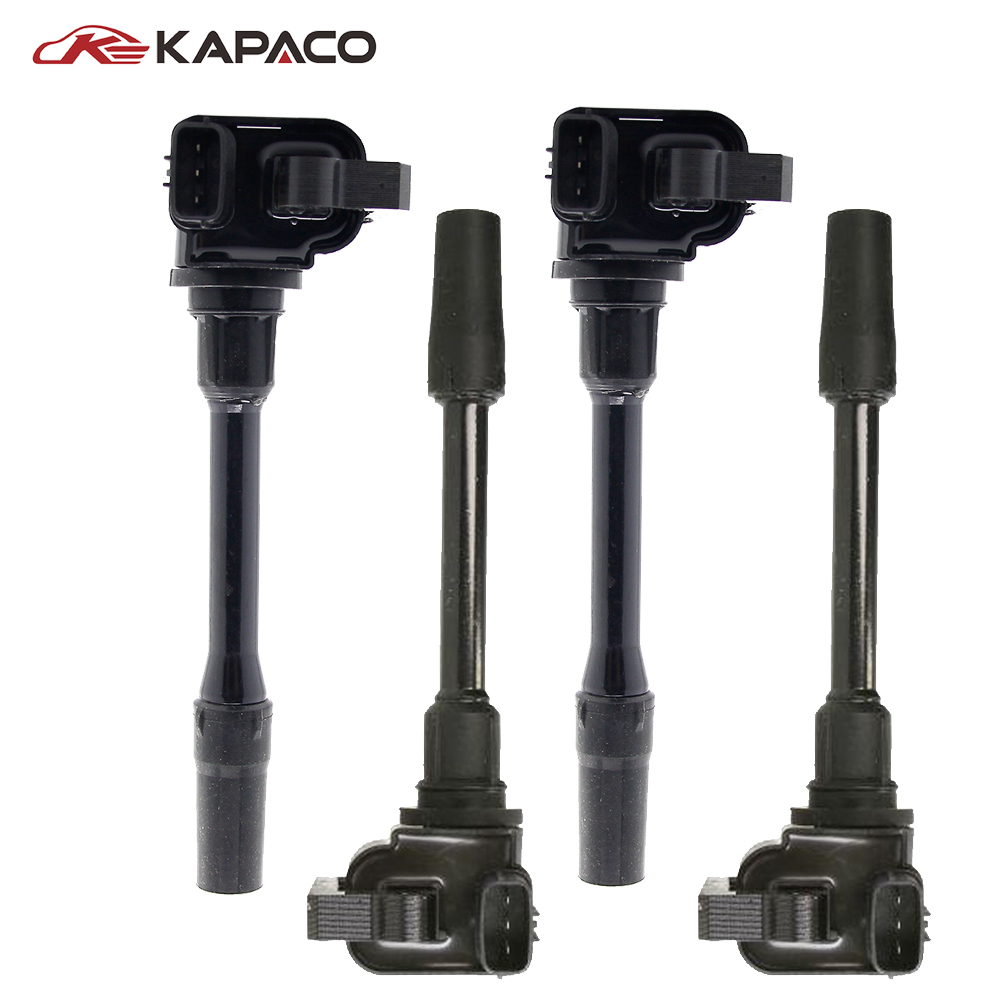 4pcs Ignition System Ignition Coil Pack Spark Plug Ignition Plug MD362913 For Mitsubishi Projero Carisma Volvo MD366821 MD3441964pcs Ignition System Ignition Coil Pack Spark Plug Ignition Plug MD362913 For Mitsubishi Projero Carisma Volvo MD366821 MD344196