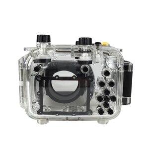 Image 4 - สำหรับ Canon G11 G12 กล้องกันน้ำเคสพลาสติก PC โปร่งใสฝาครอบดำน้ำความลึก 40 เมตรฟังก์ชั่นกล้อง