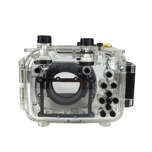 Image 4 - For Canon G11 G12 Camera Waterproof Housing PC Plastic Case Transparent Cover Diving Depth Rating 40m Control Camera Functions