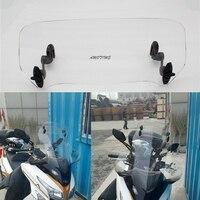 Universal Adjustable Screen Windscreen Windshield Spoiler Air Deflector For SUZUKI DL250 DL650 DL1000