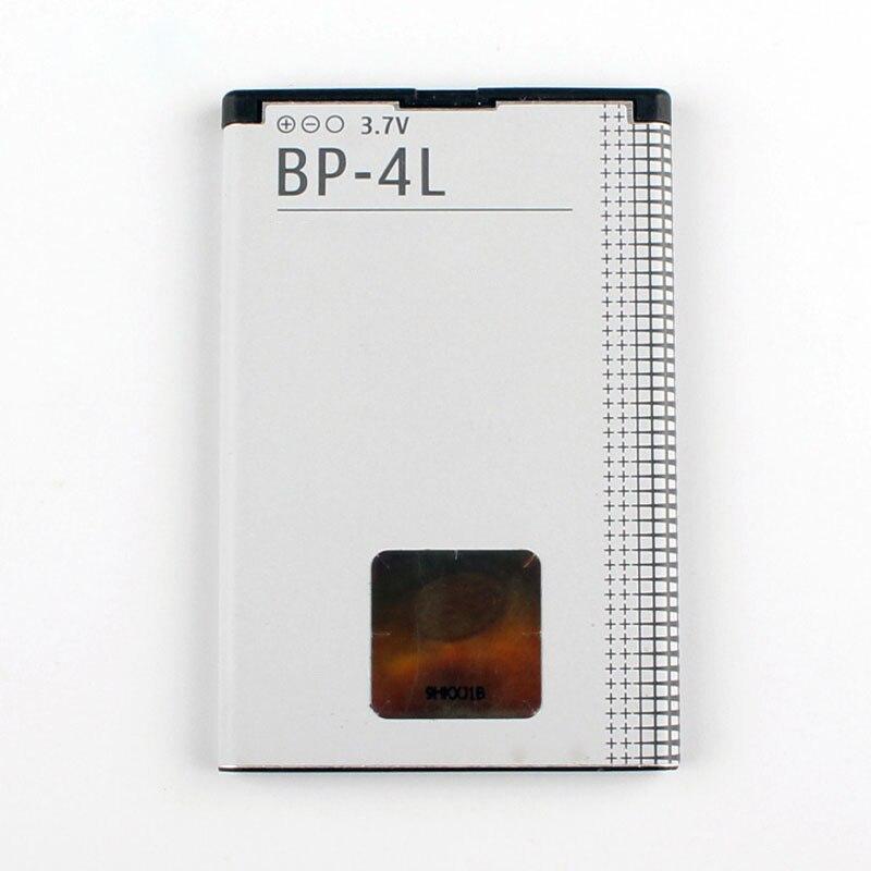 Original bateria do telefone para Nokia E61i BP-4L E63 E90 E95 E71 6650F N97 N810 E72 E52 BP4L 1500 mAh