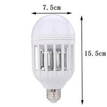 LED Bulb E27 15W 1000LM 6500K Anti-Mosquito Lamp Insect Zapper Flying Moths Killer Light Lamp 110V/220V Anti-Mosquito Repeller
