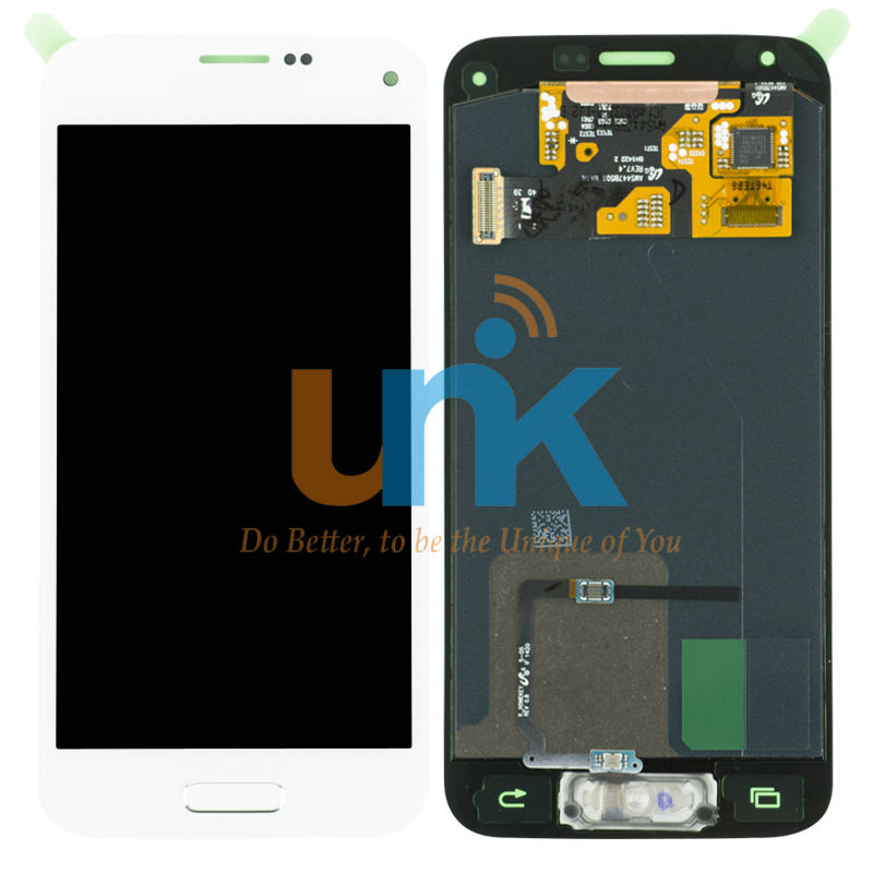 LCD Display Touch Screen Digitizer for S5 Mini LCD Display Touch Digitizer For Samsung S5 Mini LCD Black White with home button
