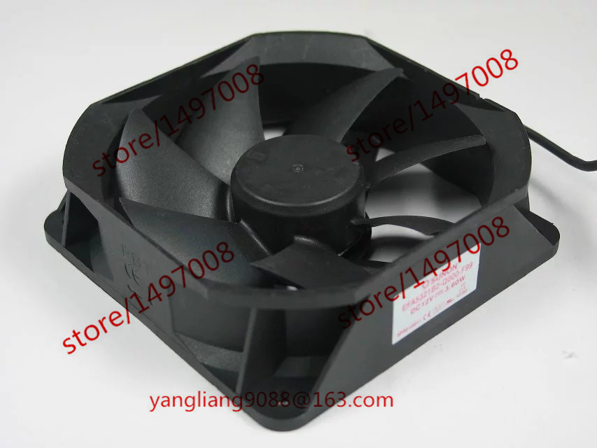 Free Shipping For SUNON EFA5321B2-Q000-F99 DC 12V 3.60W 3-wire 3-pin connector 80mm Server Square Cooling Fan free shipping for sunon kde0505phb2 dc 5v 1 9w 2 wire 3 pin 50x50x15mm server square fan