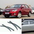 Novas 4 pcs Lâmina Lateral Do Windows Defletores Porta Viseira Protetor Para A Toyota Corolla