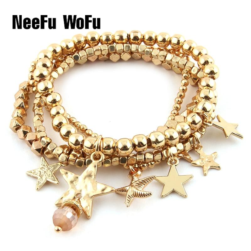 Bracelets M Perles Bracelet En Cristal Strass Charme Bohème De Luxe Marque De Mode DIY Bracelet En Gros