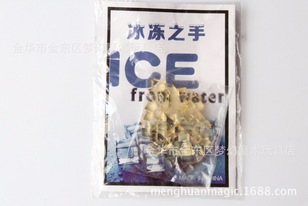 2017-NEW-Magic-Trick-Water-changes-ice-Frozen-hands-Close-up-Water-Close-ups-Tricks-Transparent-Magic-Ice-2