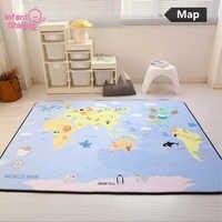 Infant Shining Play Mat Baby Crawling Mat Velvet Carpet Anti-skid 150*200*1cm(60*78.7in) Baby Mat Living Room for Children