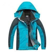Winter Children Outerwear Warm Coat Waterproof Windproof Boys Girls Jackets Sporty Kids Clothes Double Deck For