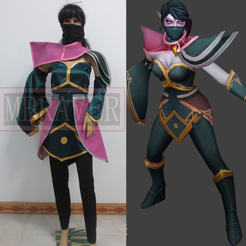 DOTA défense des anciens templier Assassin Cosplay Lanaya Cosplay Costume