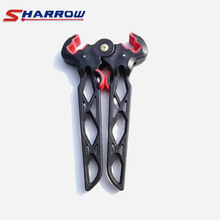Sharrow 1 Piece Compound Bow Stand Black Support Bows Shooting Hunting Accessory