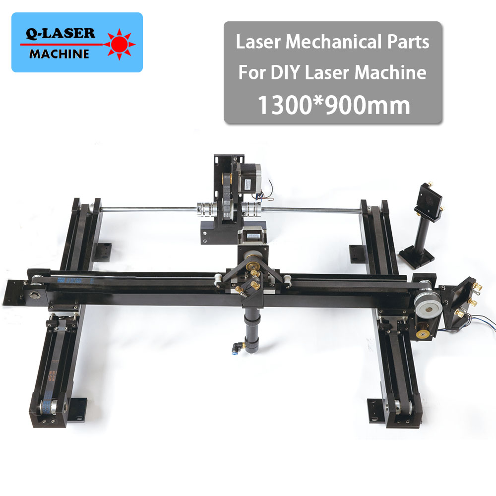 co2 diy laser cutter set 1300*900mm size mechanical laser spare