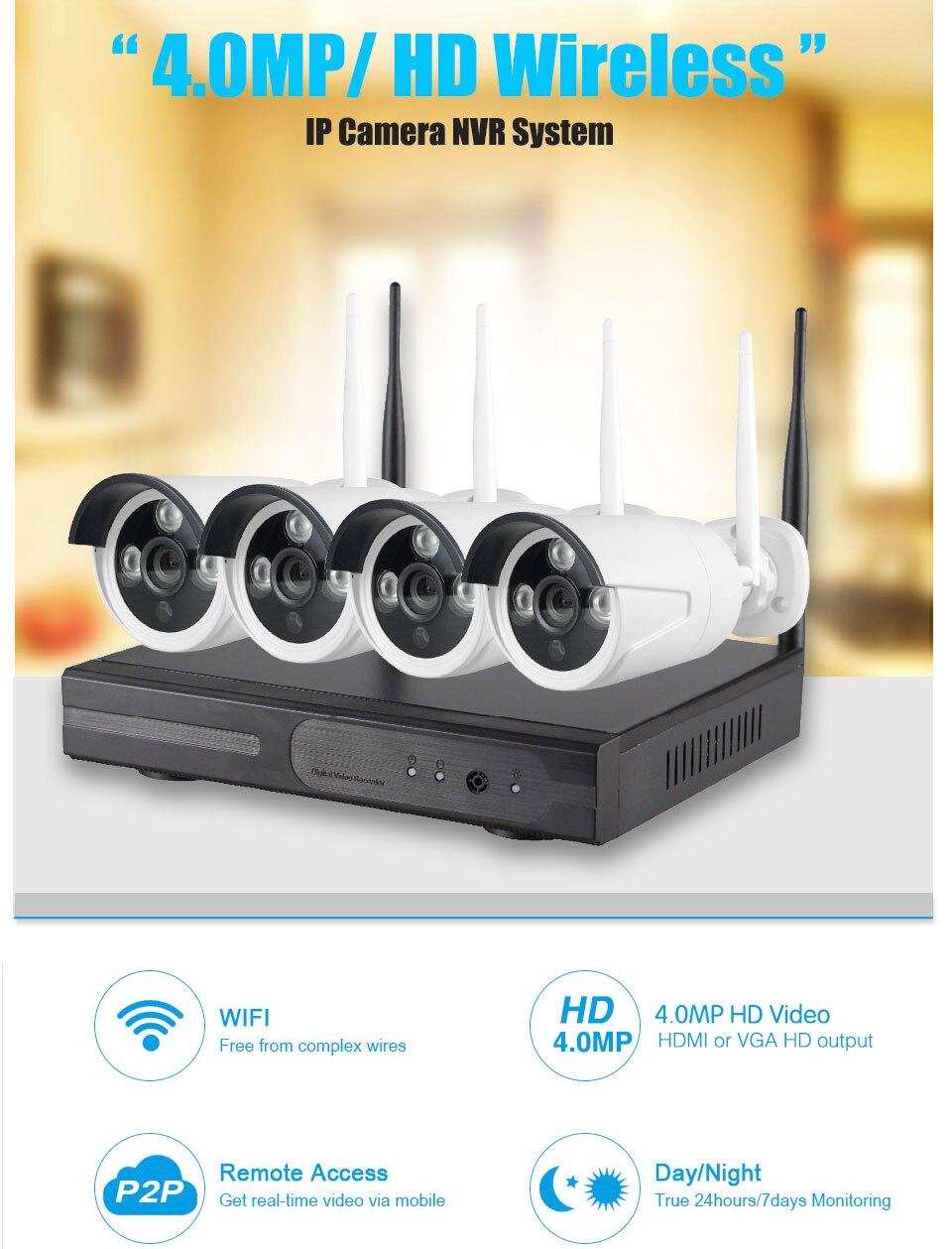 SYSTEM IP 4MP WIFI 1