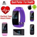 Мода Фитнес-Трекер D21 Браслет Смарт Часы Умный браслет Браслет Шагомер Здоровья Heart rate monitor для Android IOS