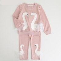 Girls Clothing Set Spring Conjunto Infantil Menina Long Sleeve T Shirt Pants Kids Casual 2pcs Sport